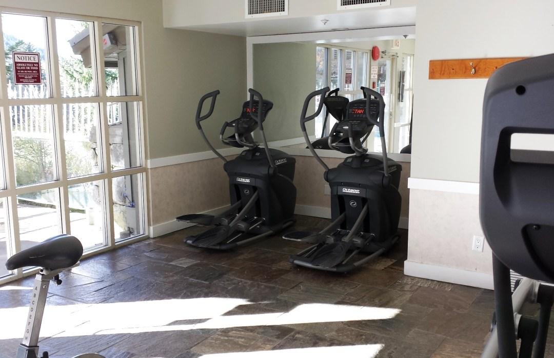 The Aspens Whistler Fitness Room Health Club