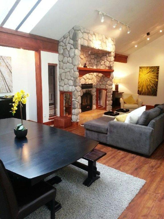 Whistler 5 Bedroom Rental Home Living Rm