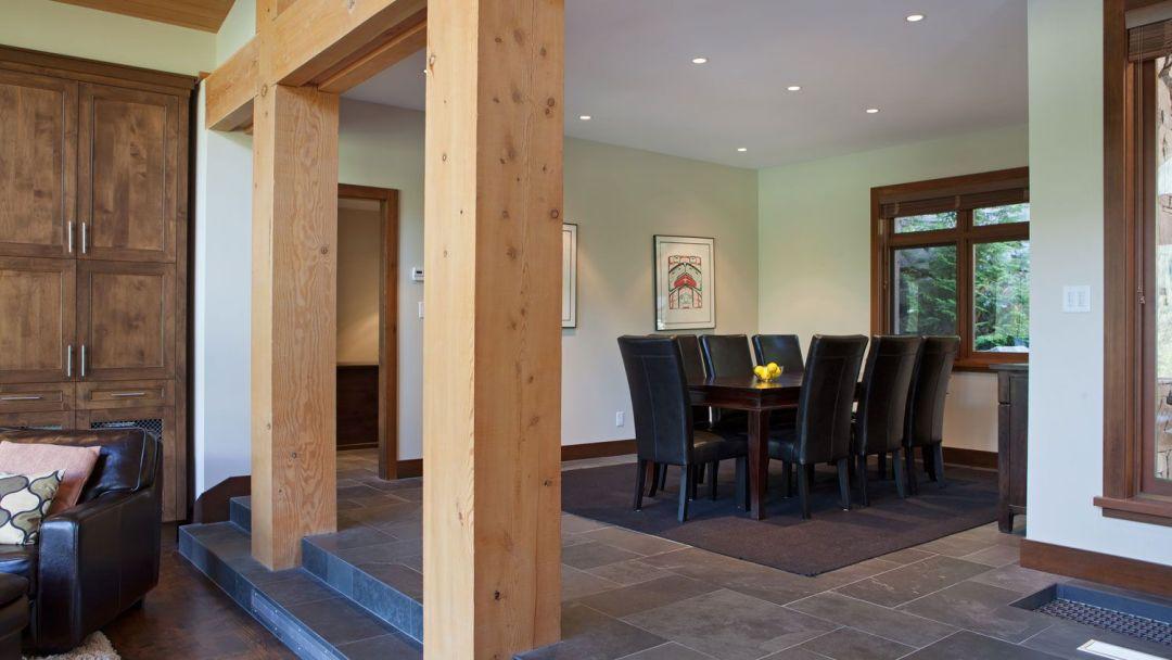 Whistler 8 Bedroom Rental Home Dining