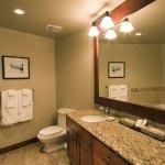 Whistler First Tracks Lodge 3 Bedroom Ski in Ski Out Bathroom
