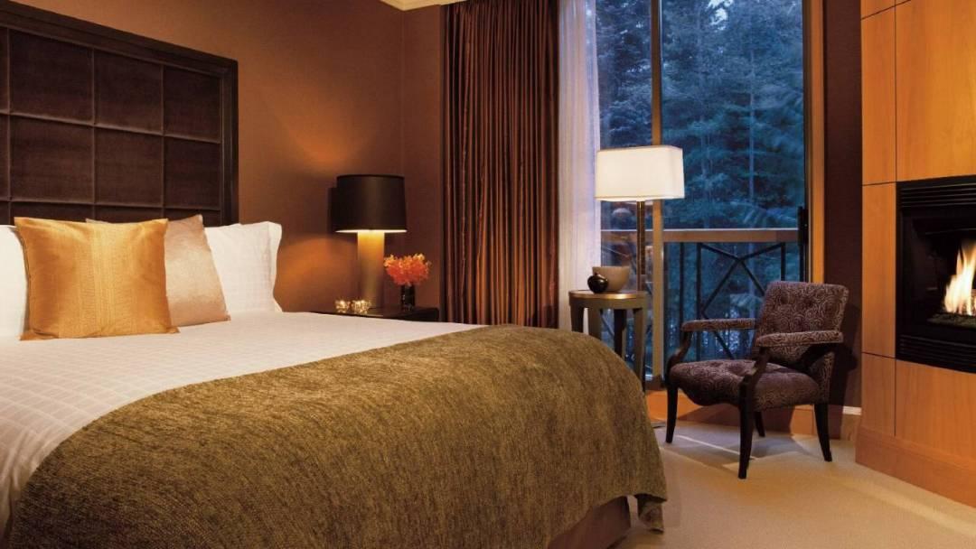 Whistler Four Seasons Resort 3 Bedroom and Den Resort Residence Bedroom
