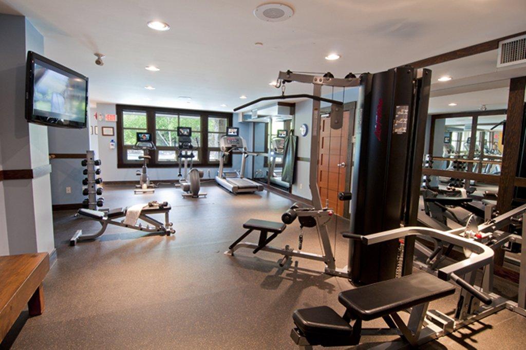 Whistler The Legends Fitness Room