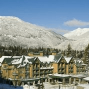 Whistler Village Hotel Ext Winter
