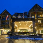 Whistler Village Hotel Exterior Night