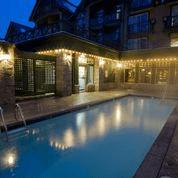 Whistler Village Hotel Exterior Pool