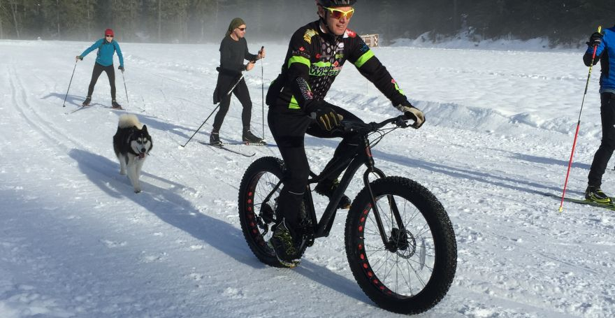 fat tire bike whistler