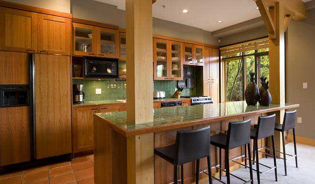 Whistler Cedar Creek B - Kitchen