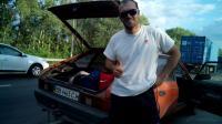 Парнишка, ехавший в Луганск подобрал меня на дороге из Липецка на Воронеж.