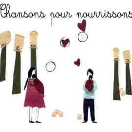 CHANSONS POUR NOURRISSONS - LIVRE-CD