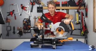Evolution RAGE3-S 210mm Sliding Compound Mitre Saw