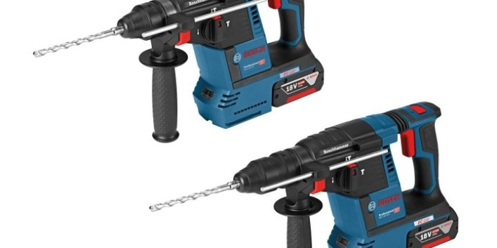 Bosch launches two new 18v rotary hammers - Skill Builder
