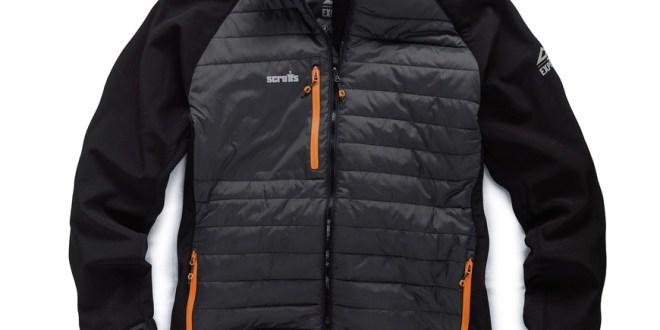 scruffs softshell jacket