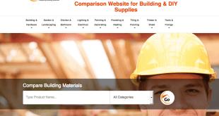 Comparison site for building supplies