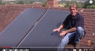 Solar Panels Water Heating