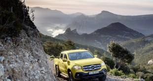 Mercedes-Benz pick-up truck