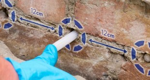 Dryrod damp-proofing