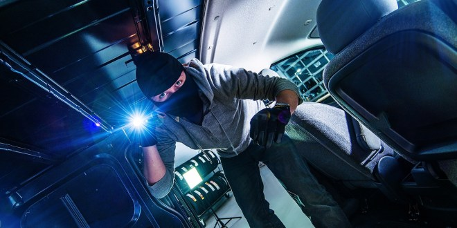 Theft awareness for tradesmen