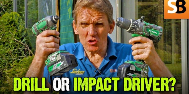 Impact Driver v Drill - What's the Difference?