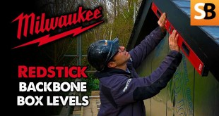 Milwaukee Redstick Backbone Box Levels