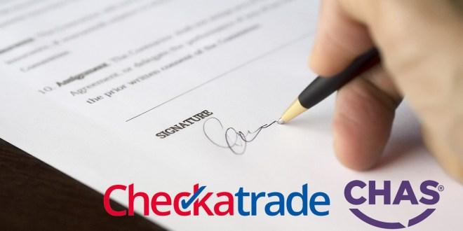CHAS Checkatrade deal