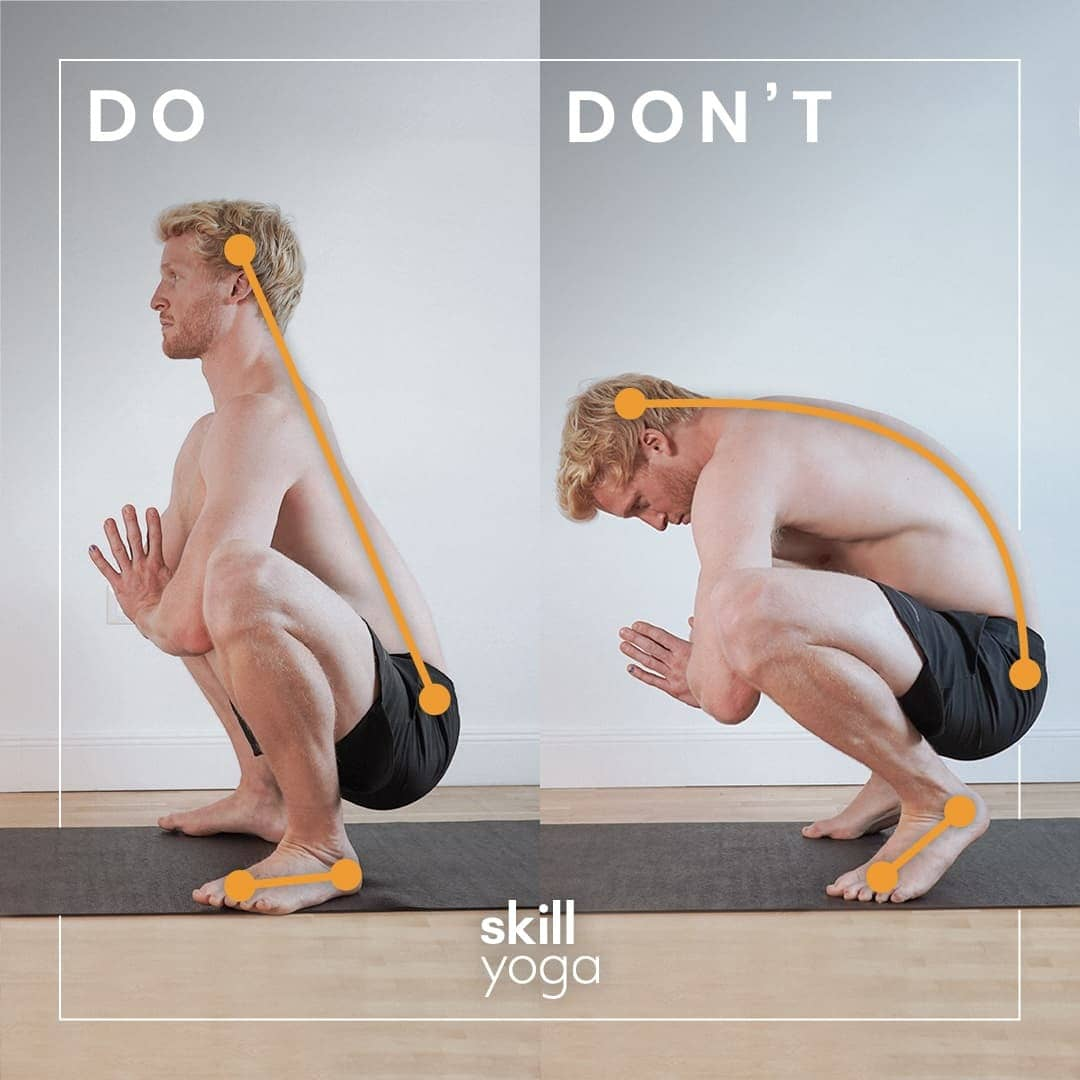 squat do's and don'ts