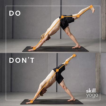 3-legged dog do's and donts of yoga