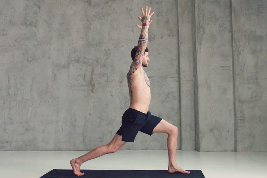 intense yoga flow
