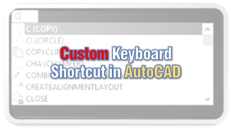 Create custom shortcuts in AutoCAD! AutoCAD Tips