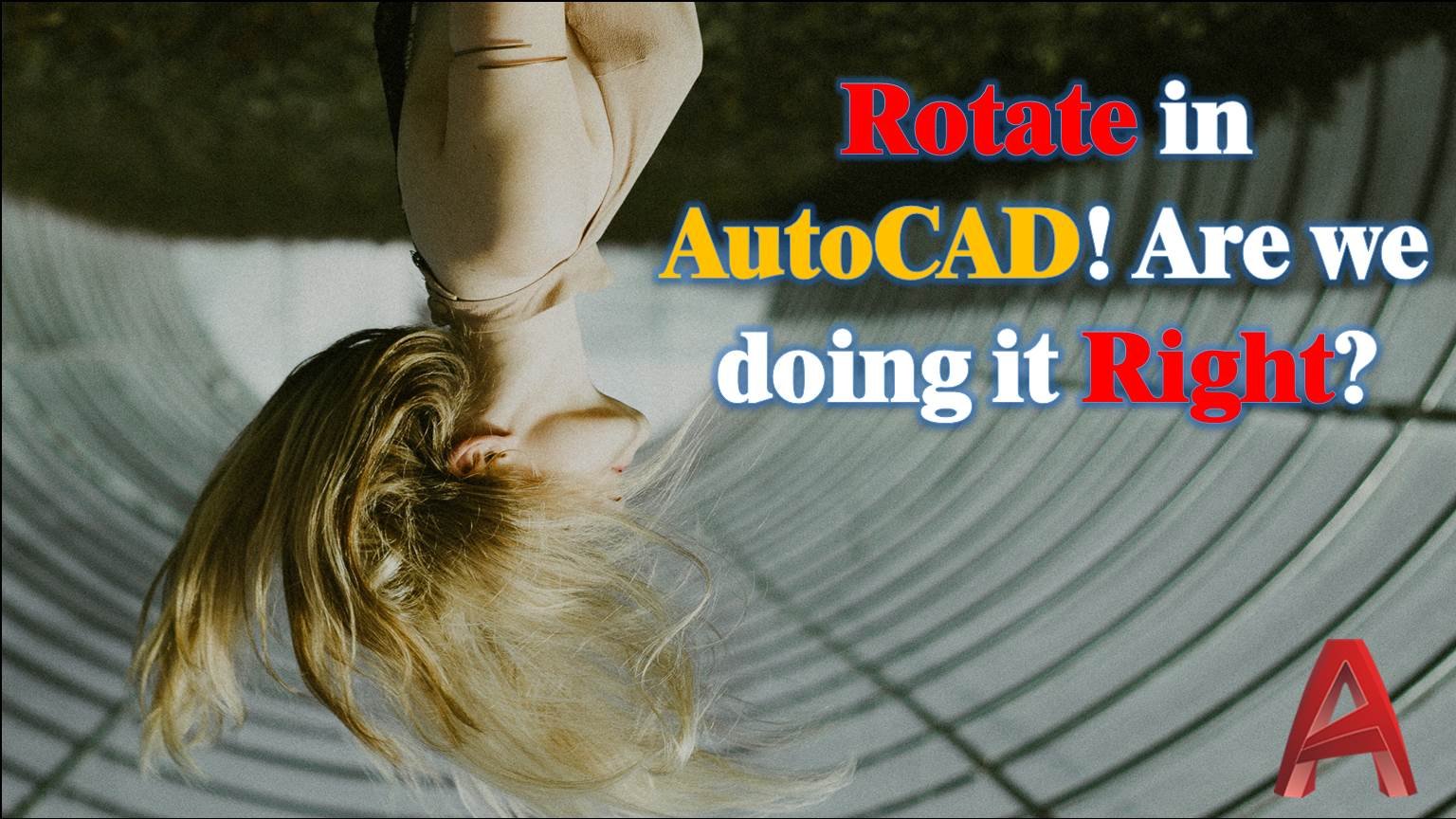 Learn how to use Rotate command as professional!