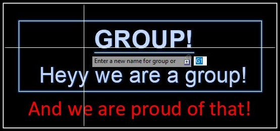 How to Rename an Existing Group in AutoCAD