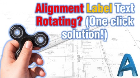 Stop alignment Label Text rotation and make it static!
