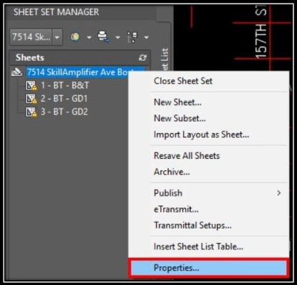 Sheet Set - Managing your Projects AutoCAD Guides