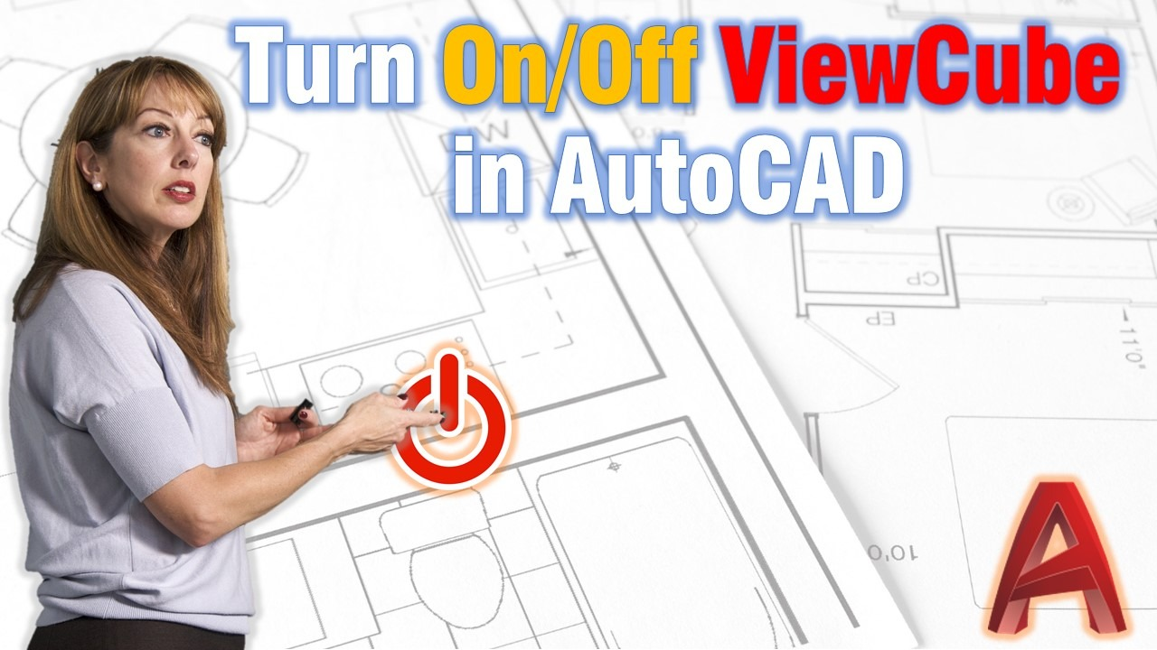 Turn On and Off Viewcube In AutoCAD