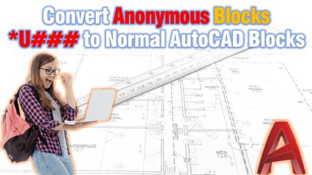 *U### Block to normal AutoCAD Block