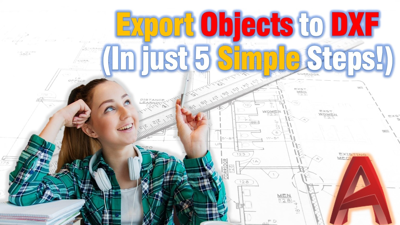 Learn how to Export objects to DXF in AutoCAD!