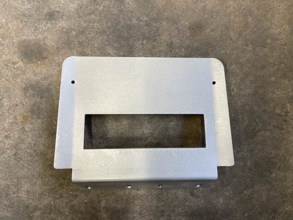 280Z Dash Plate w 7.1x2.1 DIN - Scratch and Dent
