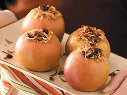 Baked Apples on the Grill