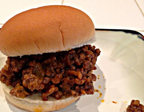 Easy Sloppy Joe Recipe