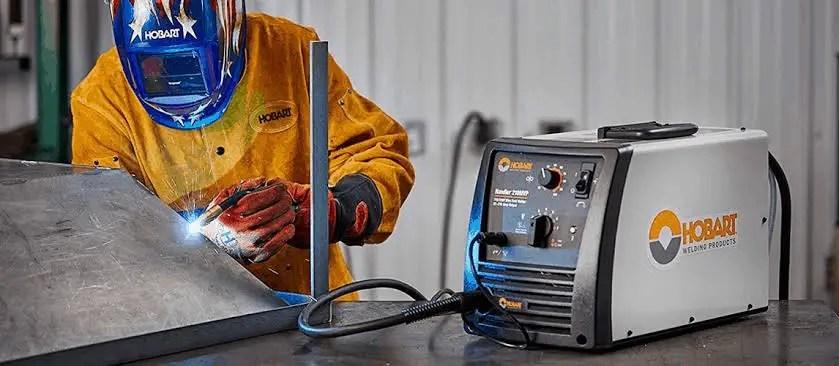 Hobart 130 welding