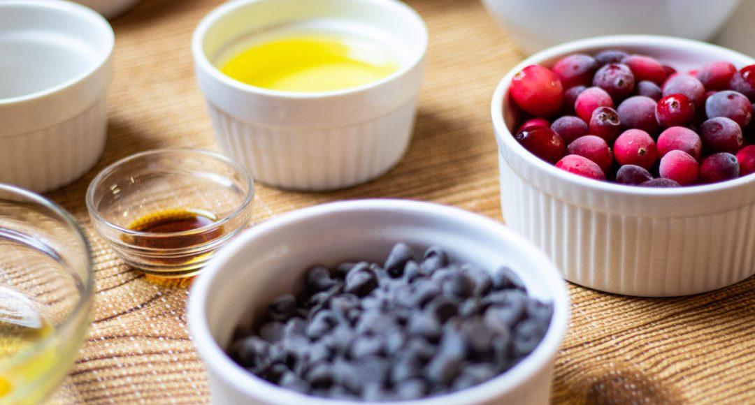 Cranberry Cookies Ingredients