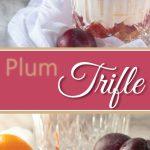 Plum Trifle