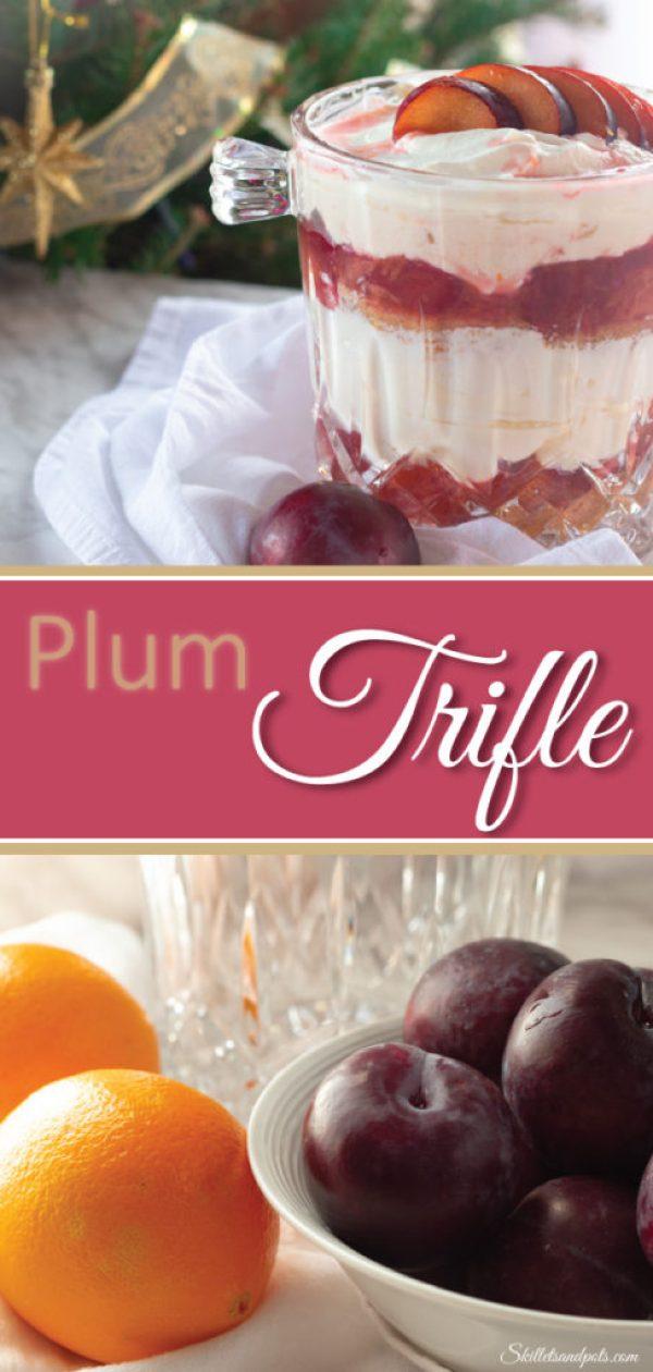 Plum Trifle Pinterest