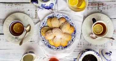 Madeleines Cakes Tea