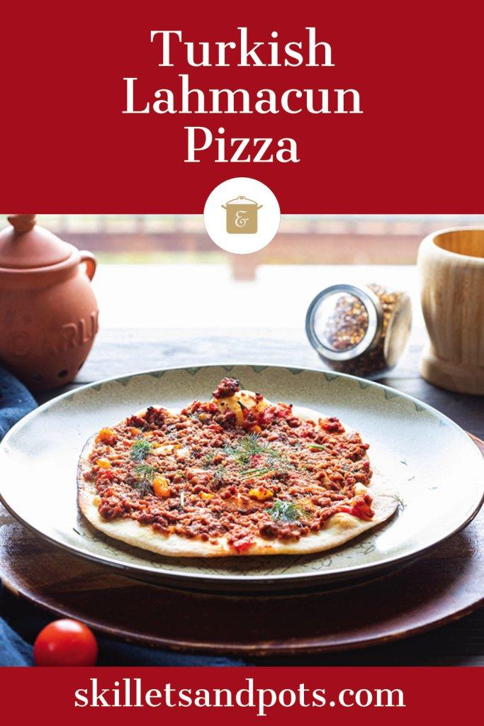 Turkish pizzas (Lahmacun)