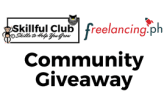community giveaway freelancing ph and skillful club