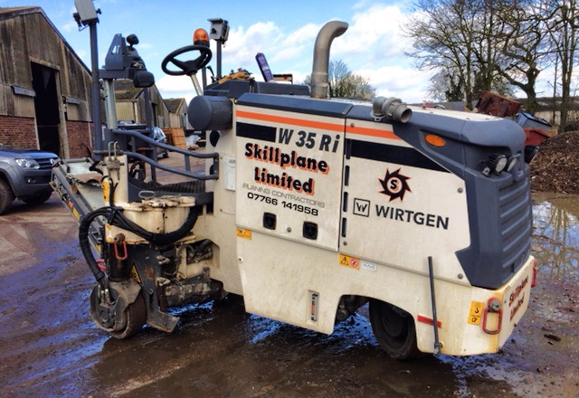 Road planer hire norwich