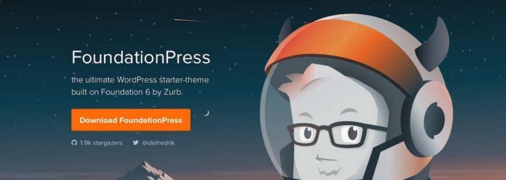 WordPress Starter Theme FoundationPress