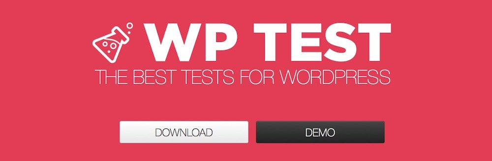 Carica contenuto di test in WordPress da wptest.io