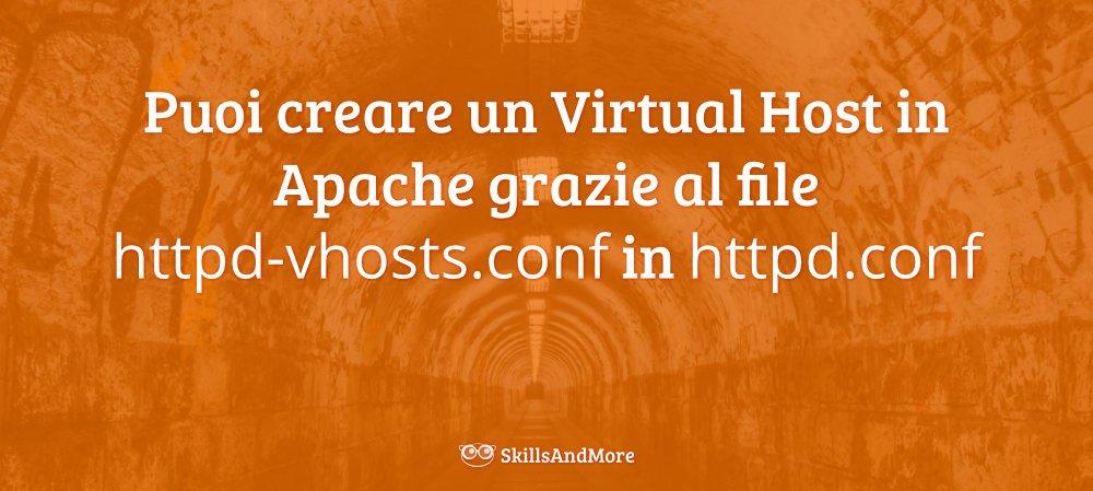 Crea un Virtual Host in Apache