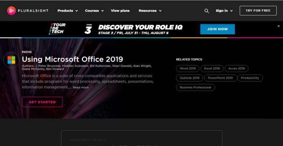 Using Microsoft Office 2019